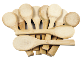 Wooden Bamboo Spoon